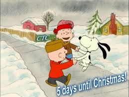 5 days until christmas