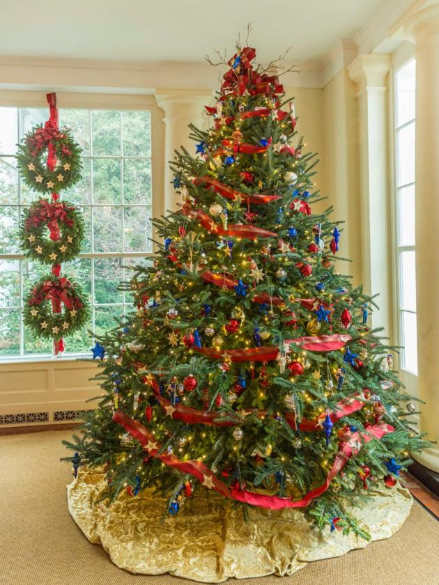 18 Festive Christmas Tree Themes